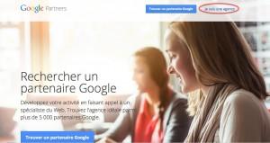 Où créer son compte google partners
