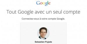 Exemple d'un compte google pour associer à google partners